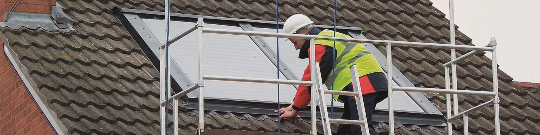 Easi-Dec Work Platform for Solar Installation