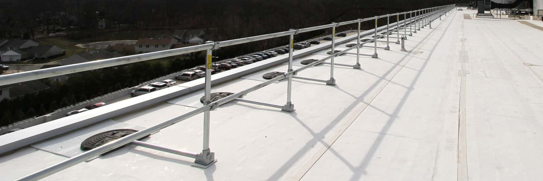 Safety Railing Systems for Fall Protection