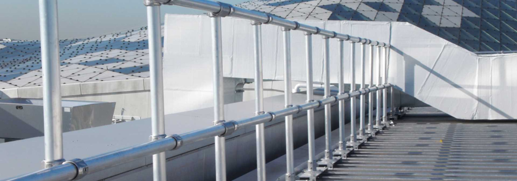 Metal Roof Railing Systems