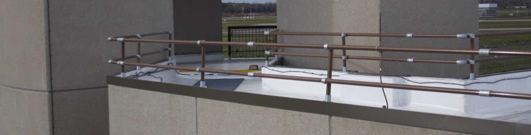 Parapet Mounted Roof Railing
