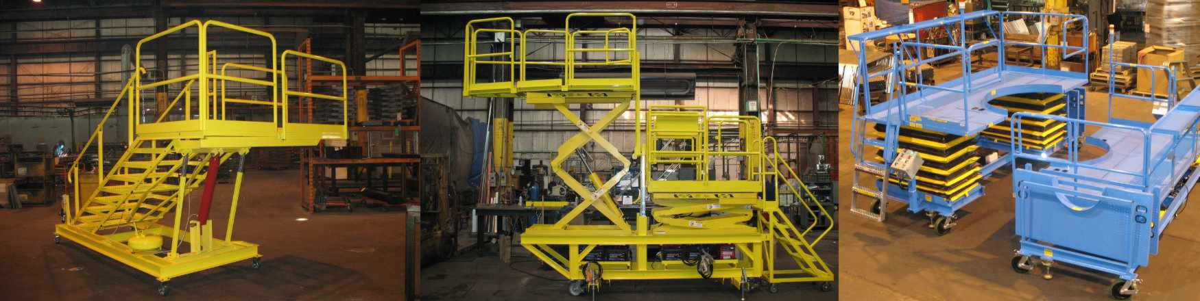 Tri Arc Engineered Access Platforms