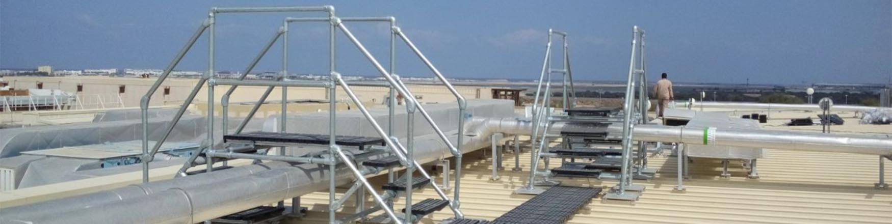 crossover platforms for roofs