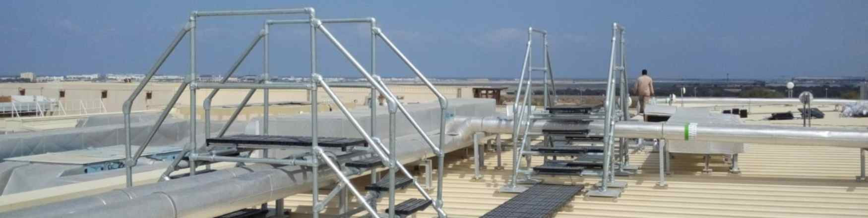 Work Platforms & Roof Walkways