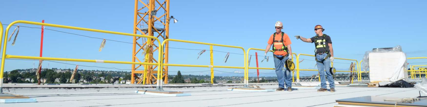 Construction Safety Railing Systems