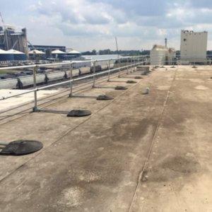 Perimeter Rooftop Railing