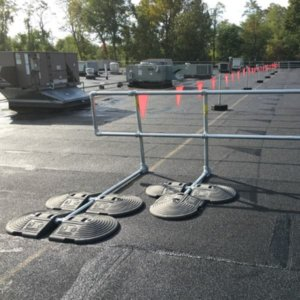 Warning Line & Perimeter Railing