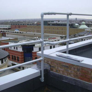 Integrate Parapet Railing with Other Railing Styles