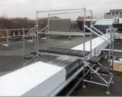 Crossover Platform for Ducts