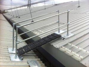 Crossover Bridge in Rooftop