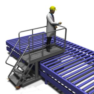 Conveyor Supported Cantilever Inspection
