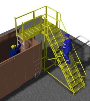Gondola Access Platform