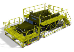 Military Truck Platform