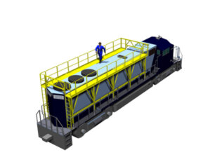 Train Engine Maintenance Platform