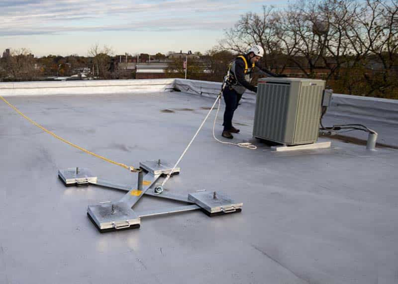 Fall Protection Experts Roof Railing Skylight