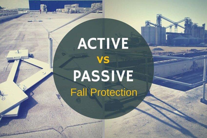 Active vs Passive Fall Protection