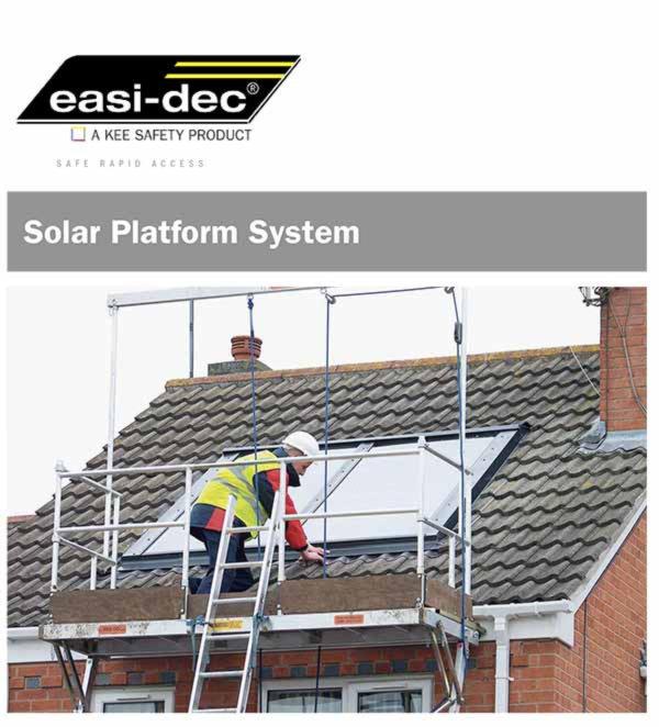 Easi-Dec Solar Platform Cut Sheet