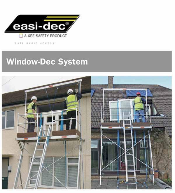 Easi-Dec Window-Dec Cut Sheet