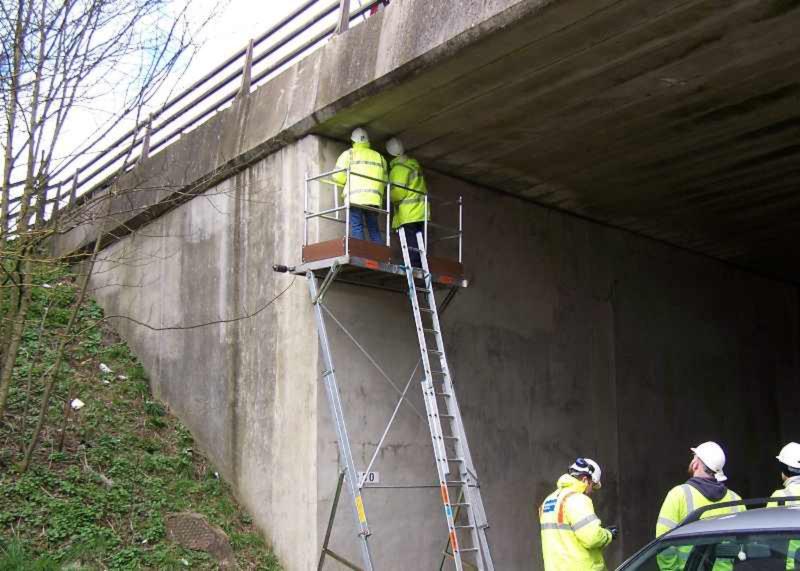 Elevated Inspection Platform