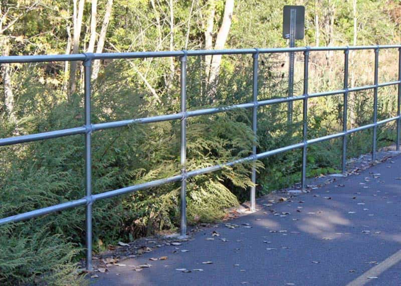 Ground Safety Railing