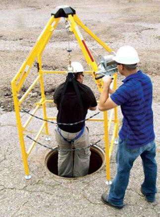 Lifeguard Manhole Safety System