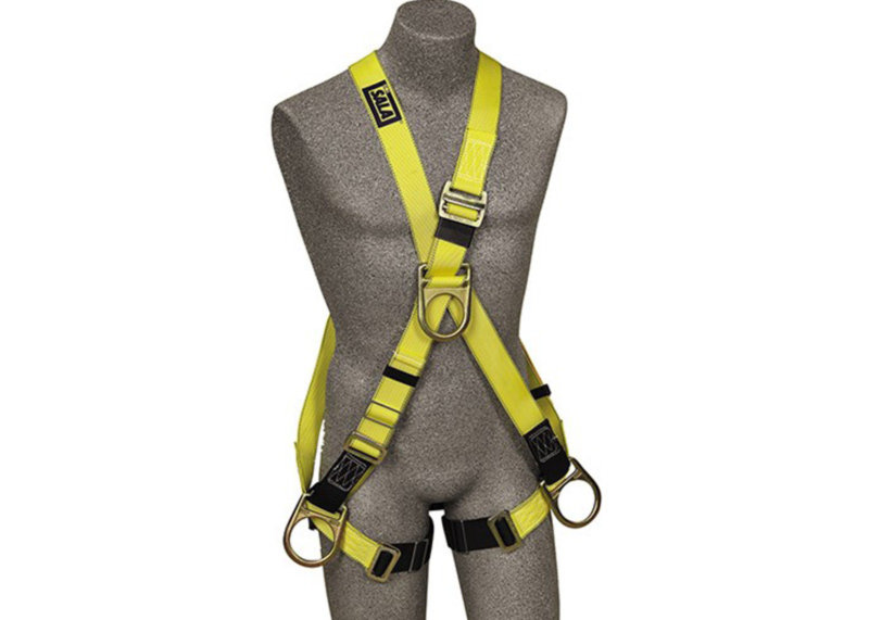 Cross-Over Safety Harnesses
