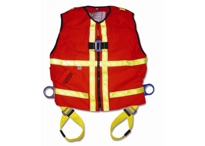 High-Visibility Safety Harnesses
