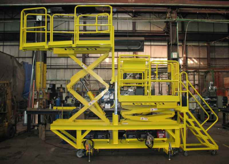 Fabricated Work Platforms