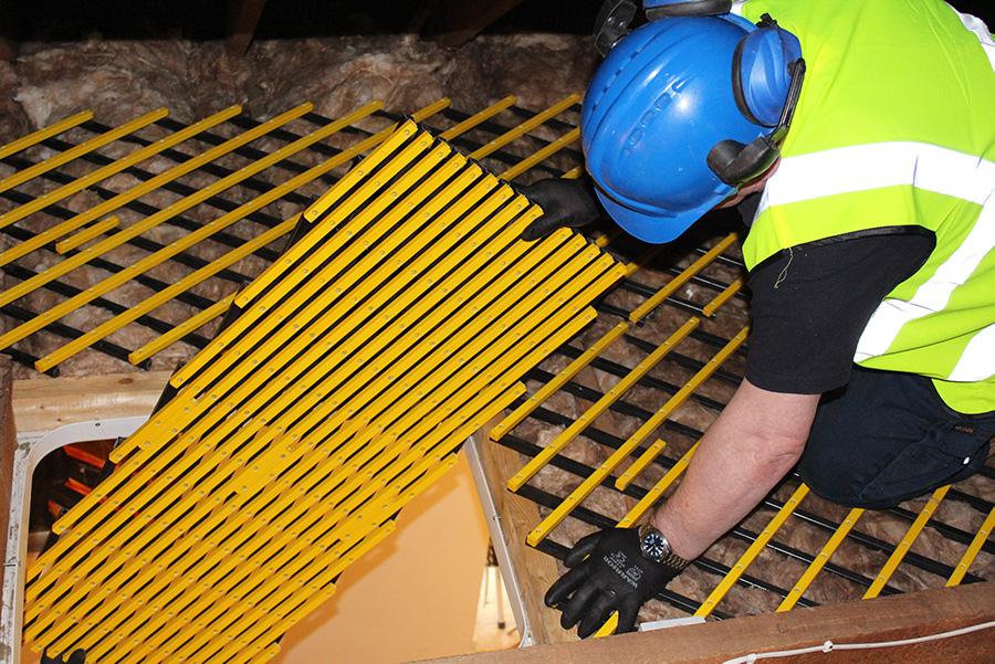 Oxford Safety platform installation
