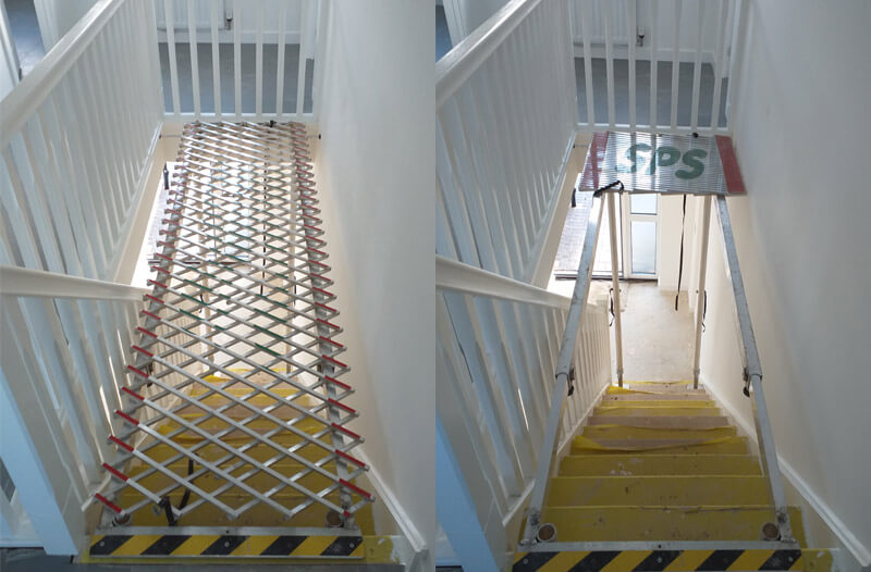 stairwell protection system