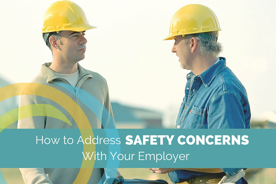 how to address safety concerns
