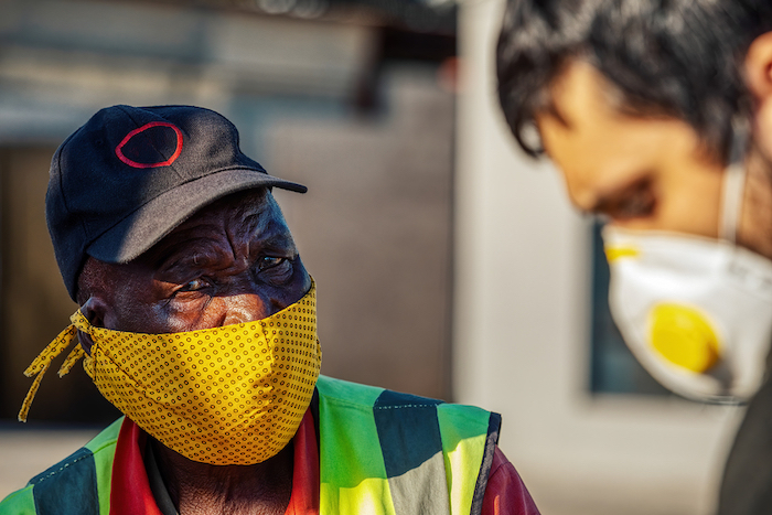 workers wearing PPE