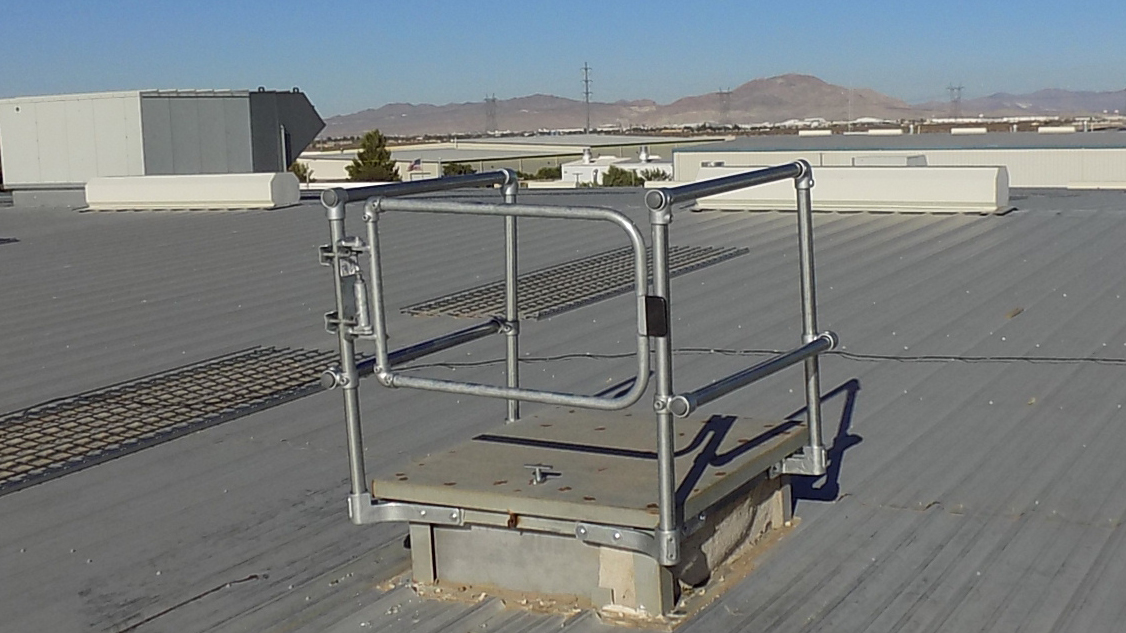 roof hatch safety system