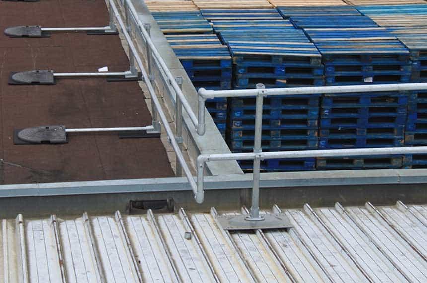 metal roof rails