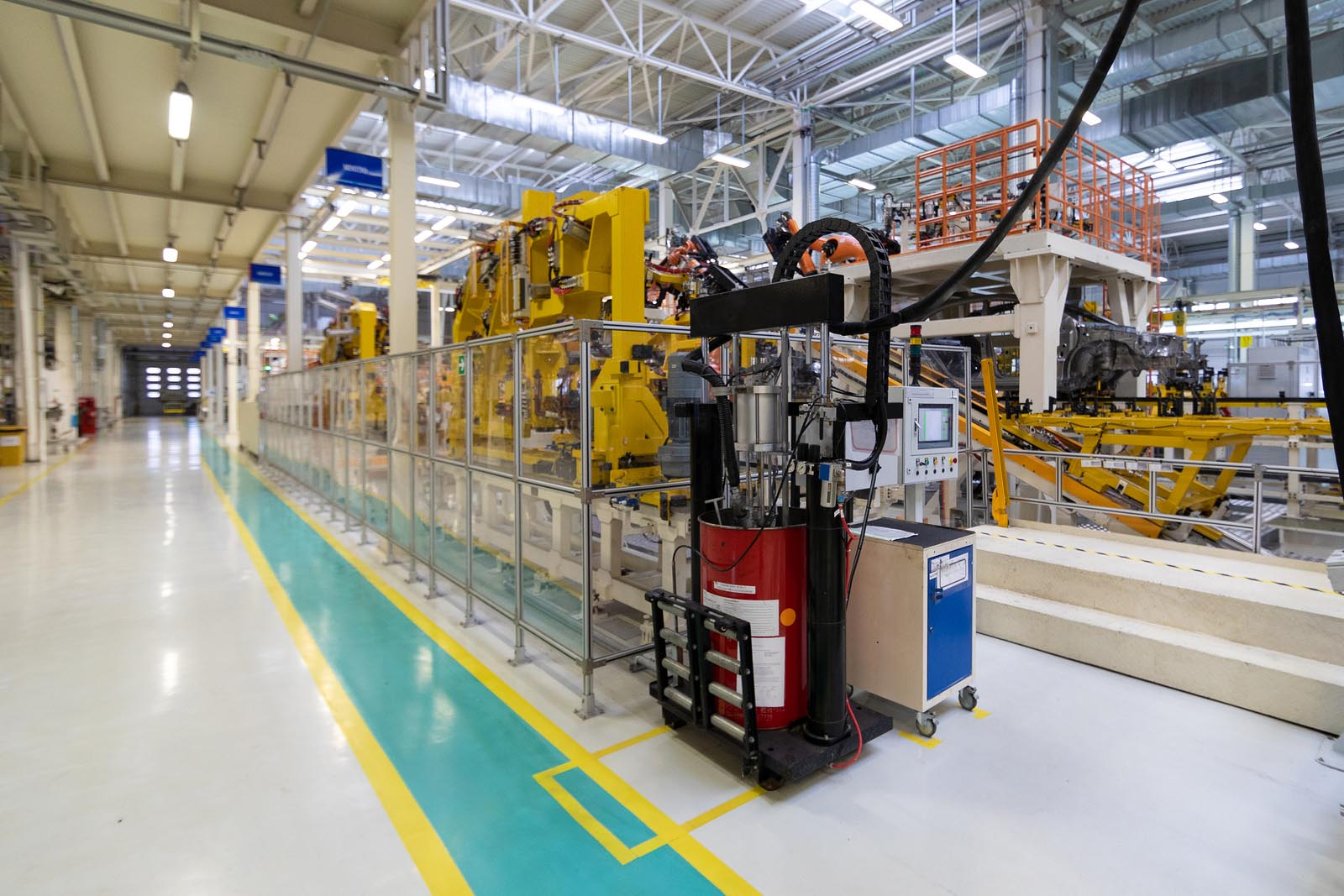 Manufacturing plant safety