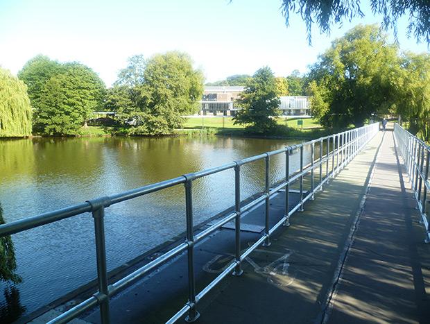 ground railing