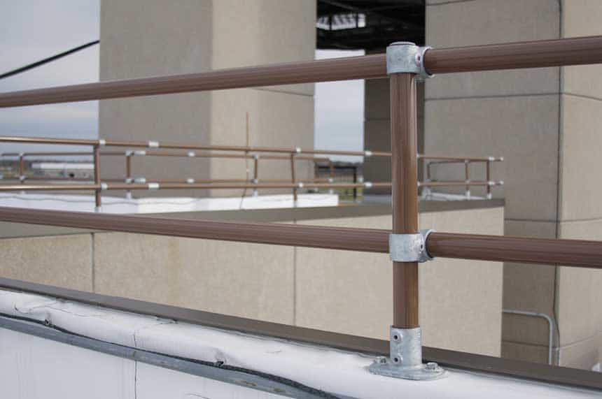 Parapet Mounted Railing System
