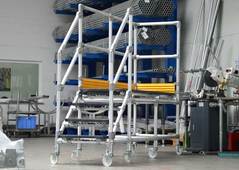Rolling Platforms for manufacturers