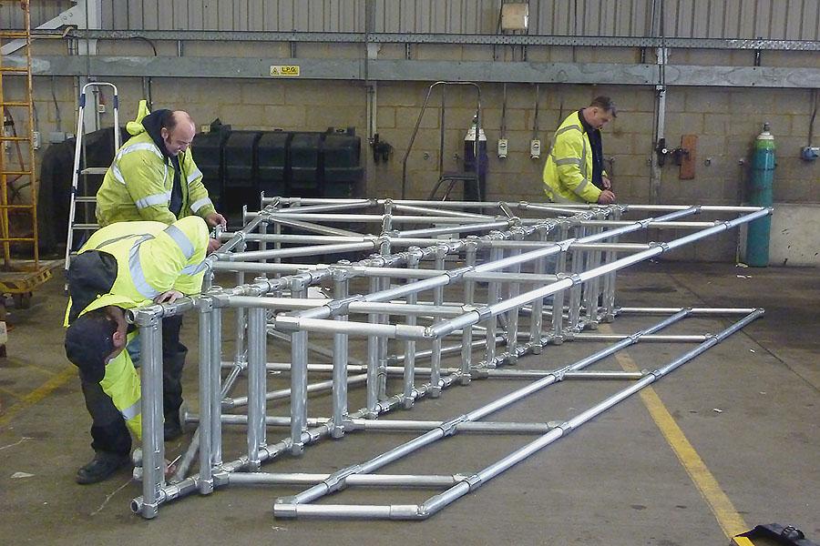 vehicle platform installation