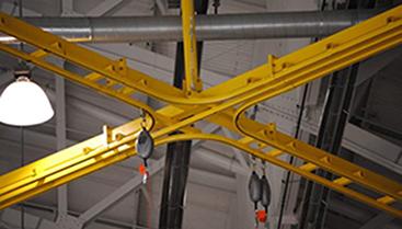 Twin Flexrail - rigid rail