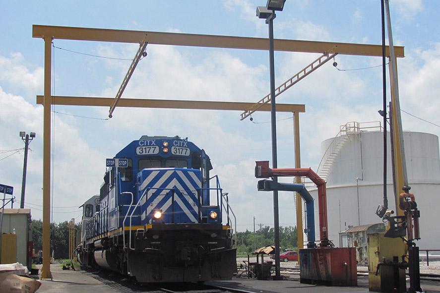 Rigid Rail Overhead Fall Protection