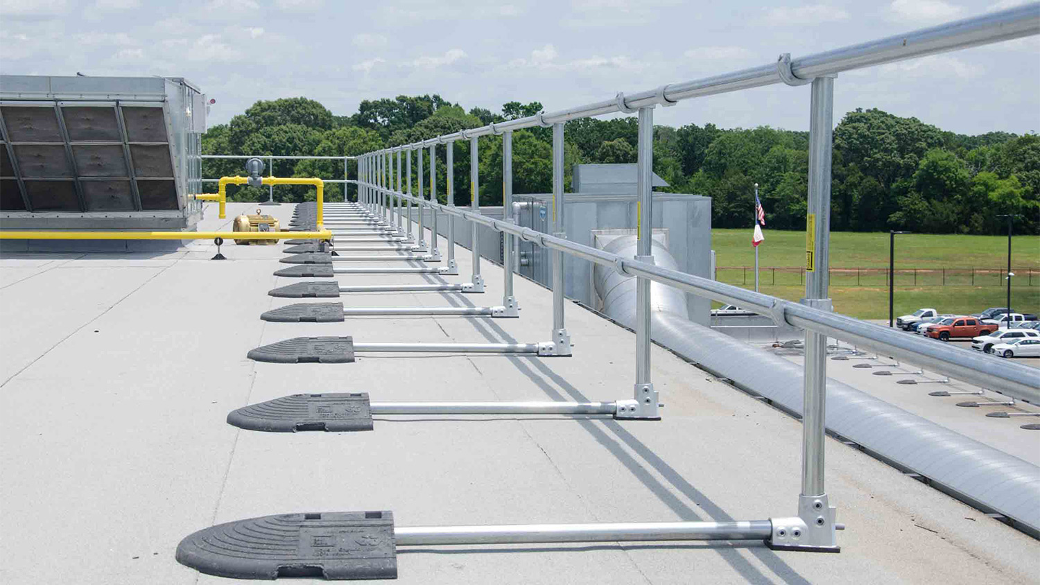 Roof Fall Protection Food Processing Facility