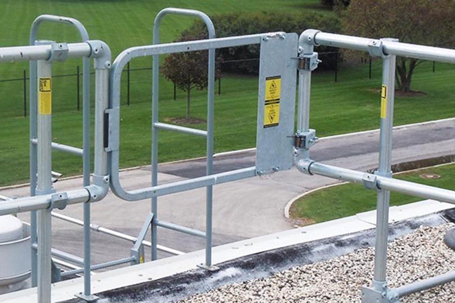 ladder safety gate