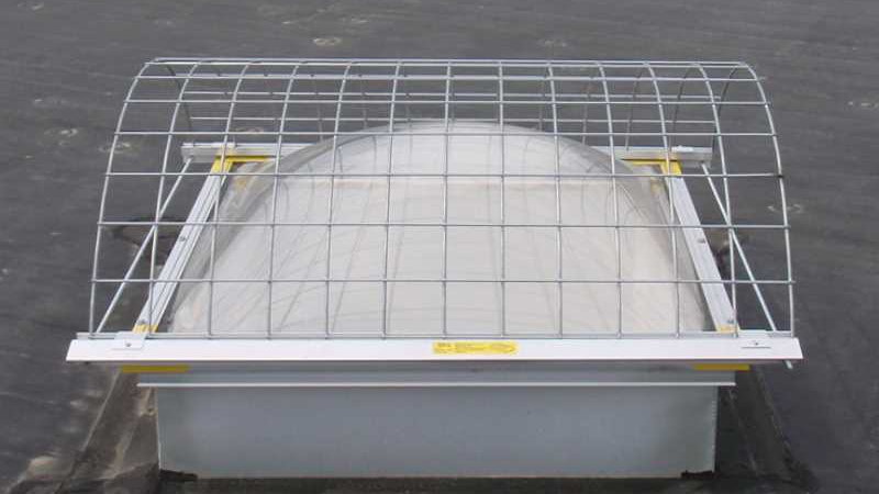 Curb Style STS Model Skylight Screen